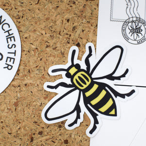 MANCHESTER BEE STICKER