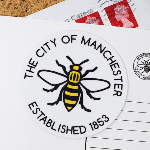 THE CITY OF MANCHESTER - EST. 1853 STICKER
