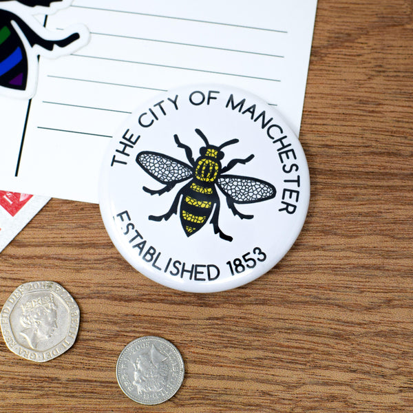 THE CITY OF MANCHESTER - EST. 1853 MAGNET