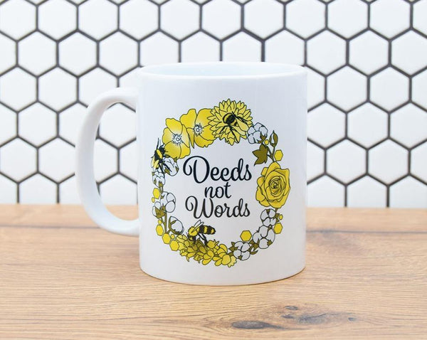 Deeds Not Words Mug - The Manchester Shop