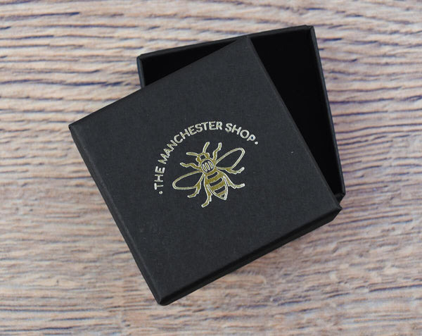 Gold Bee Stud Earrings - The Manchester Shop