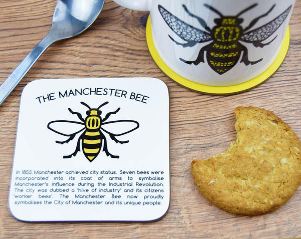 History Of The Manchester Bee Coaster - The Manchester Shop