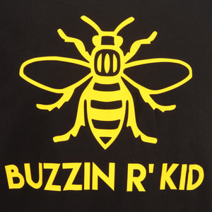 Buzzin' R Kid T-Shirt - Unisex - The Manchester Shop