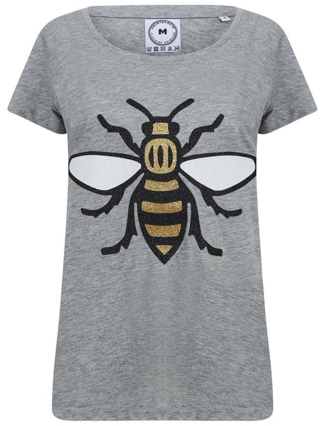 Ladies Glitter Worker Bee T-Shirt