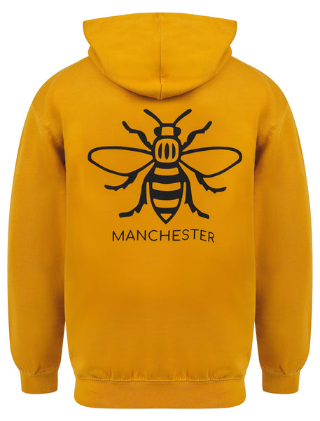 Worker Bee Mustard Hoody - The Manchester Shop