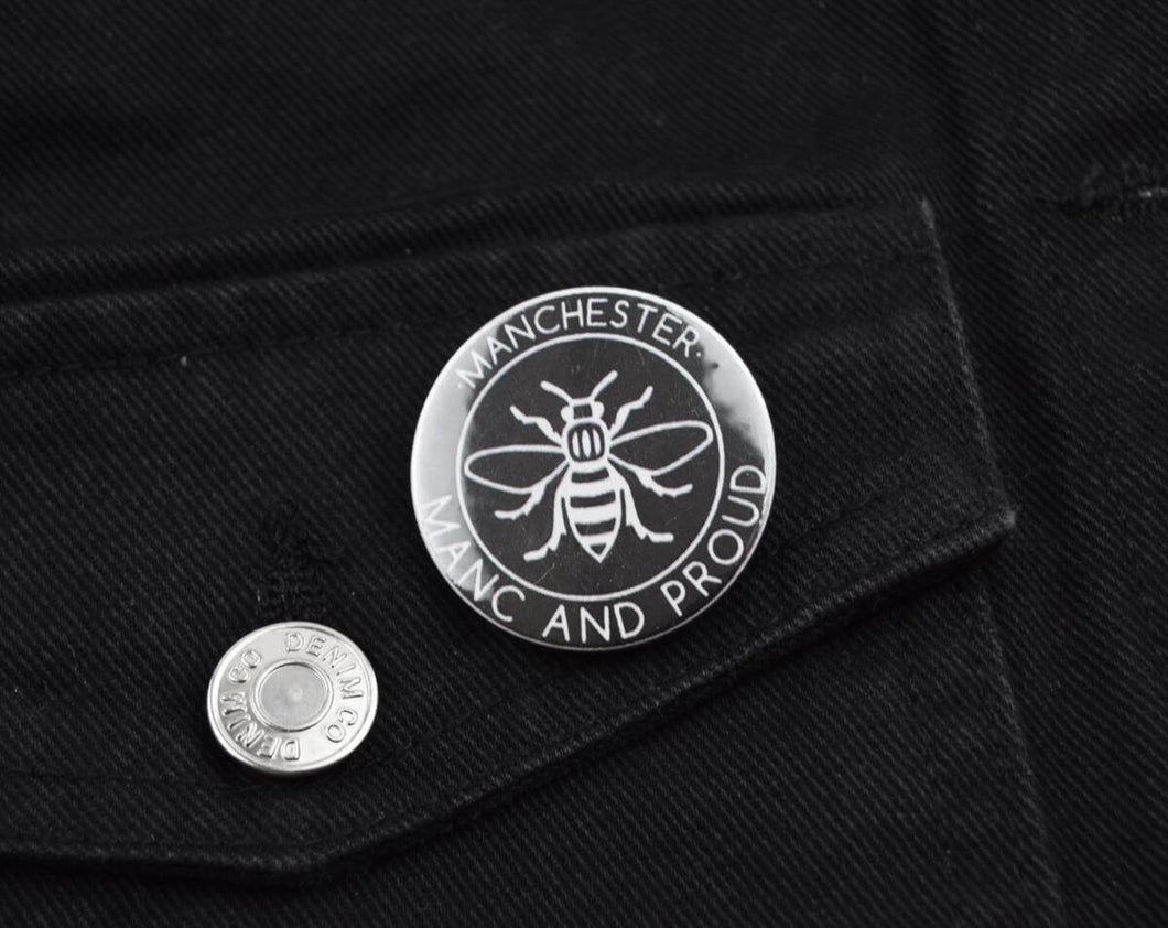 Manc and Proud Logo Badge - The Manchester Shop