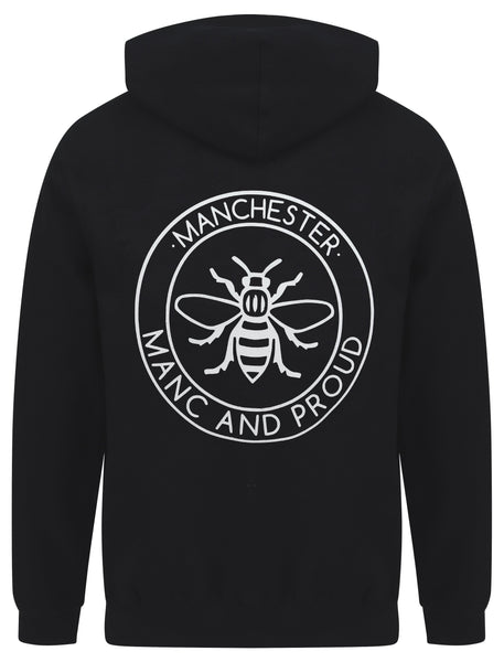 Manc & Proud Black Hoody