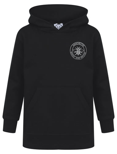 Manc & Proud Black Hoody - The Manchester Shop