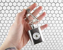 Miniature Keyring Hip Flask - The Manchester Shop