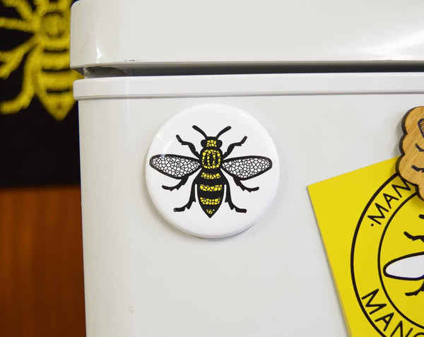 Mosaic Manchester Bee Magnet - The Manchester Shop