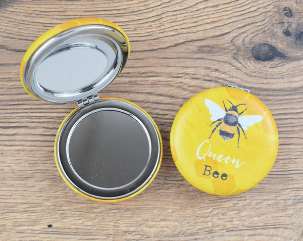 Queen Bee Compact Mirror - The Manchester Shop