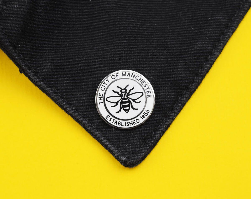 The City Of Manchester Est. 1853 Pin - The Manchester Shop