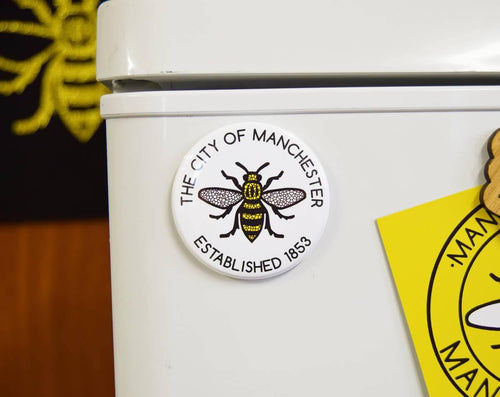 The City Of Manchester Established 1853 Magnet - The Manchester Shop