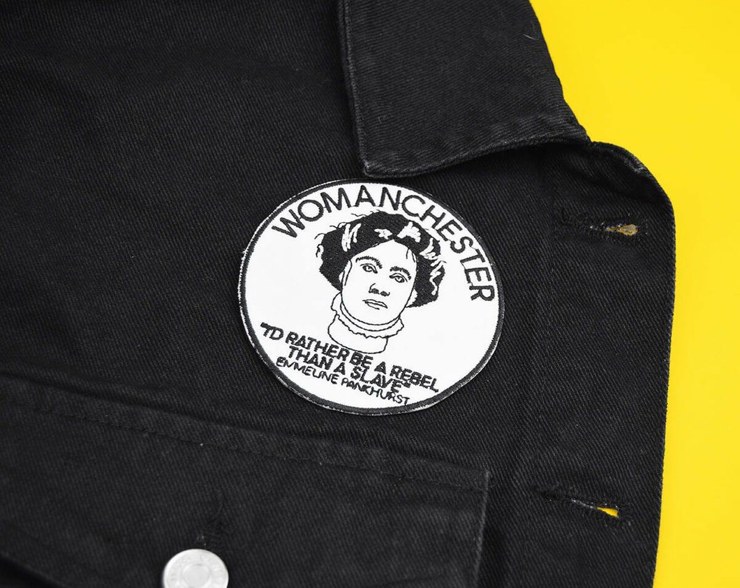 Womanchester Patch - The Manchester Shop