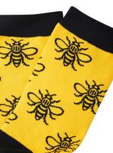 Yellow Manchester Bee Adult Socks - The Manchester Shop