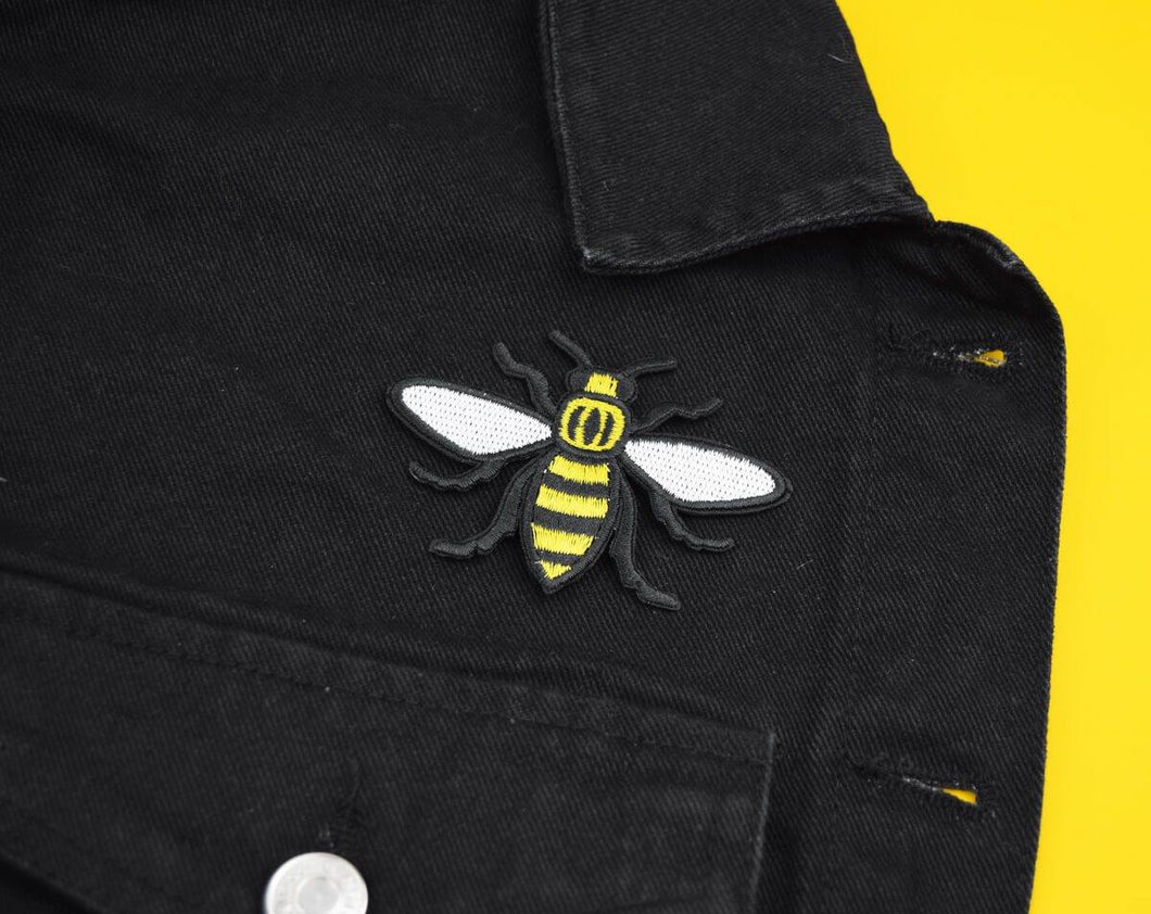Yellow Manchester Bee Patch - The Manchester Shop