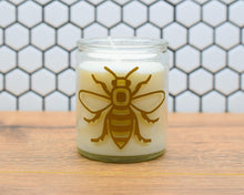 Manchester Bee Candle In Gift Bag