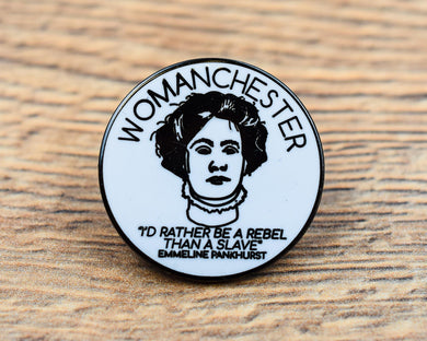 Womanchester Pin
