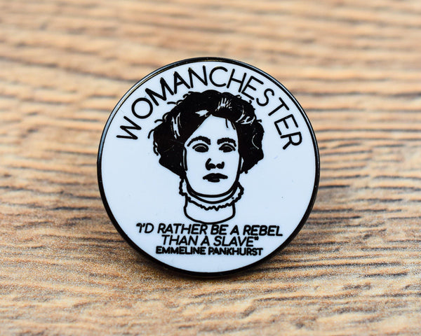 Womanchester Pin - The Manchester Shop