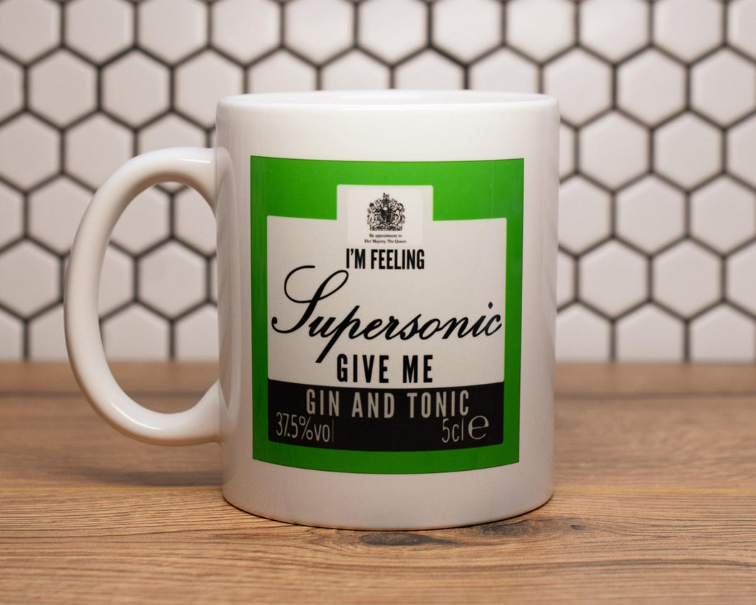 Supersonic Mug - The Manchester Shop