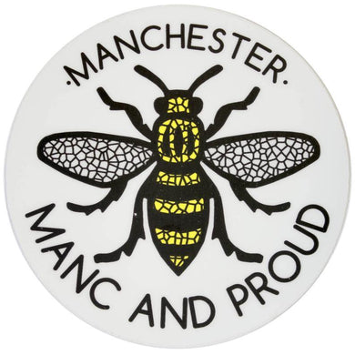 Mosaic Manchester Bee Manc & Proud Logo Sticker - The Manchester Shop