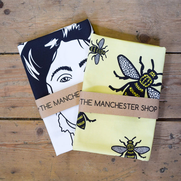 Worker Bee Tea Towel - The Manchester Shop
