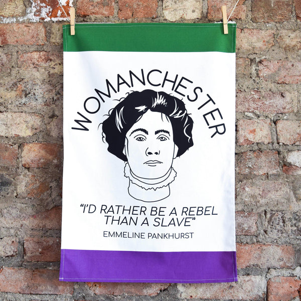 Womanchester Tea Towel - The Manchester Shop