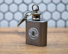 Miniature Keyring Hip Flask