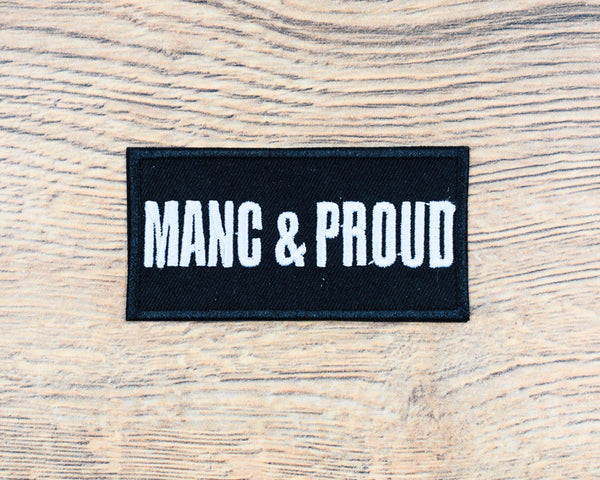 Manc & Proud Rectangle Patch