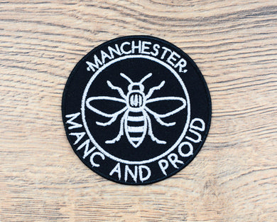 Manc & Proud Logo Patch