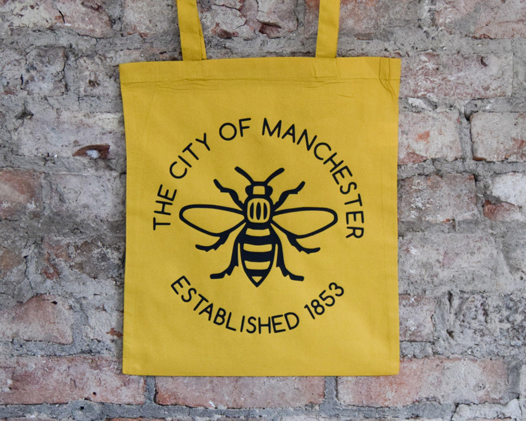 Yellow Manchester Est. Tote
