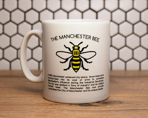 History Of The MCR Worker Bee Mug - The Manchester Shop