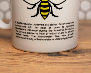 History Of The Manchester Bee Mug