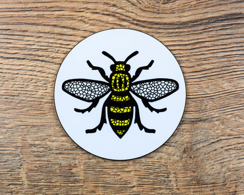 Mosaic Manchester Bee Coaster