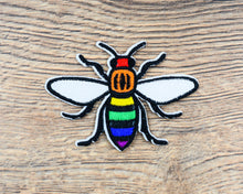 Rainbow Manchester Bee Patch - The Manchester Shop