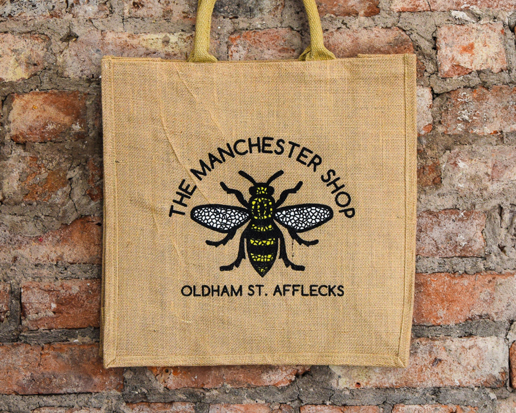 The Manchester Shop Jute Shopper