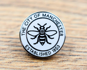 The City Of Manchester Est. 1853 Pin