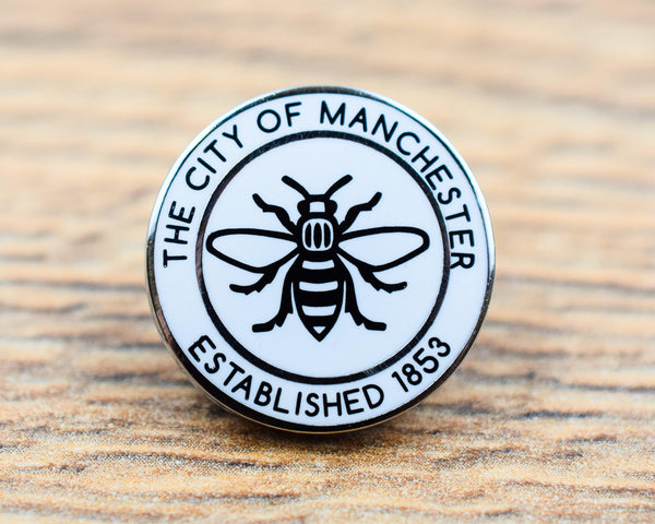 Manchester Established 1853 Pin - The Manchester Shop