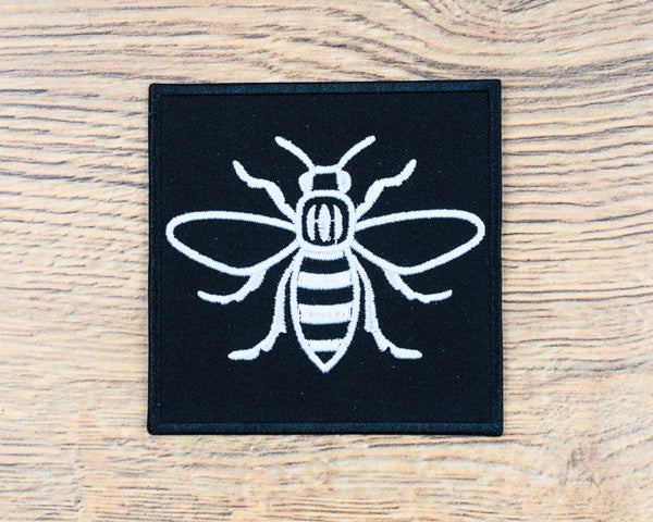 White Square Manchester Bee Patch