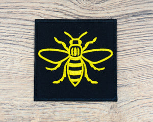 Yellow Square Manchester Bee Patch