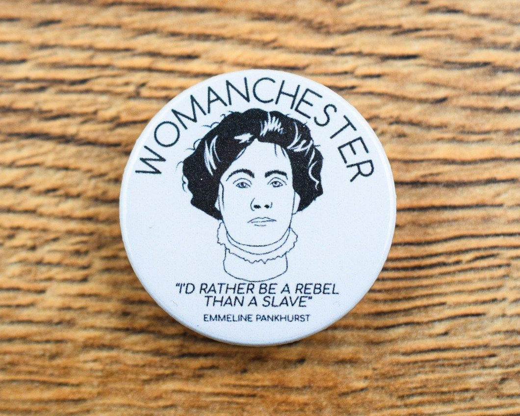 Womanchester Badge