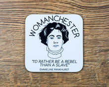 Womanchester Coaster - The Manchester Shop
