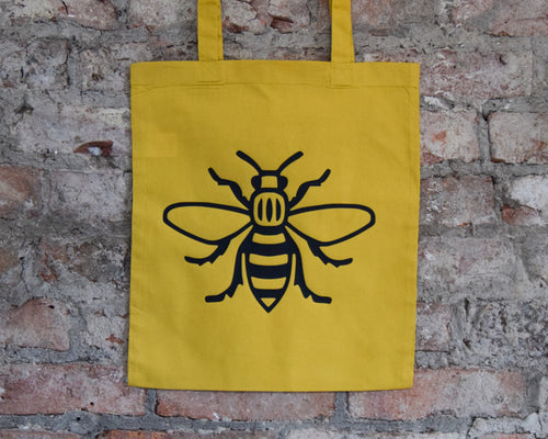 Yellow Worker Bee Tote