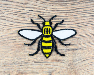 Yellow Manchester Bee Patch