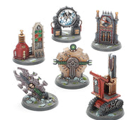 Warhammer 40k Battlezone Manufactorum Objective Set - (Last Chance to Buy)