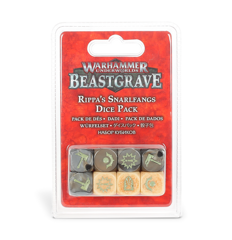 Warhammer Underworld: Rippa's Snarlfangs Dice - (Last Chance to Buy)