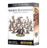 Start Collecting Khorne Bloodbound Goreblade Warband