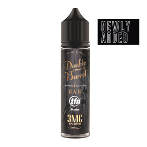 Oak *Tobacco Free Nicotine* (60 ml) by Double Barrel Tobacco Reserve