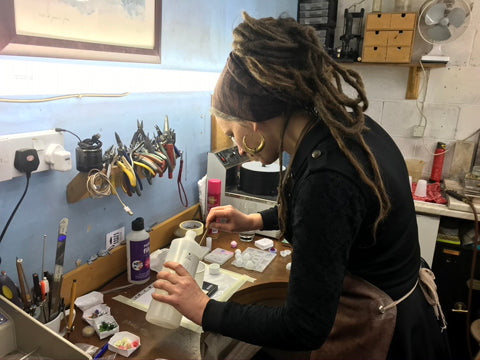 A Resin Jewellery Making Workshop