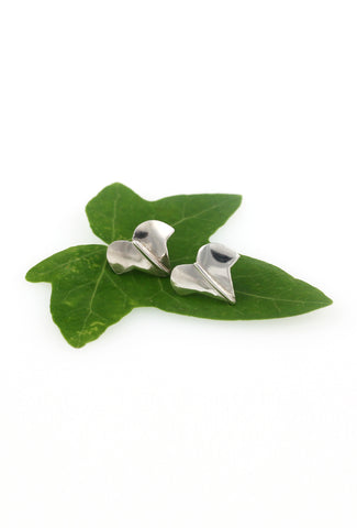 Small Ivy Leaf Stud Earrings